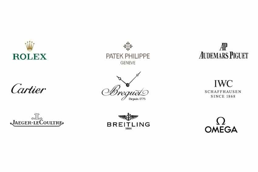Les 32 marques de montre de luxe les plus connues
