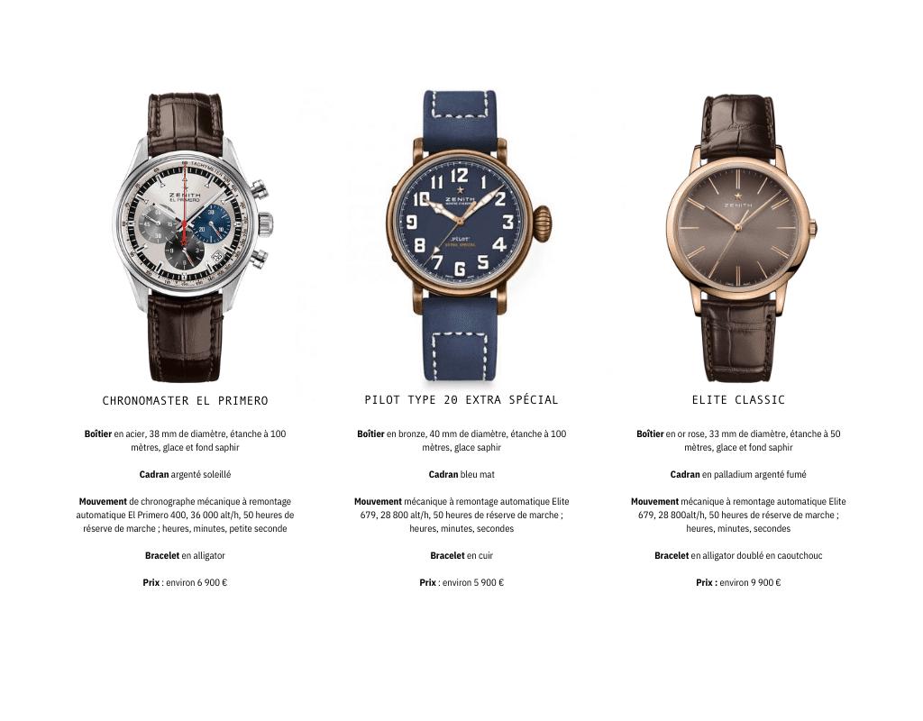 marques de montre de luxe