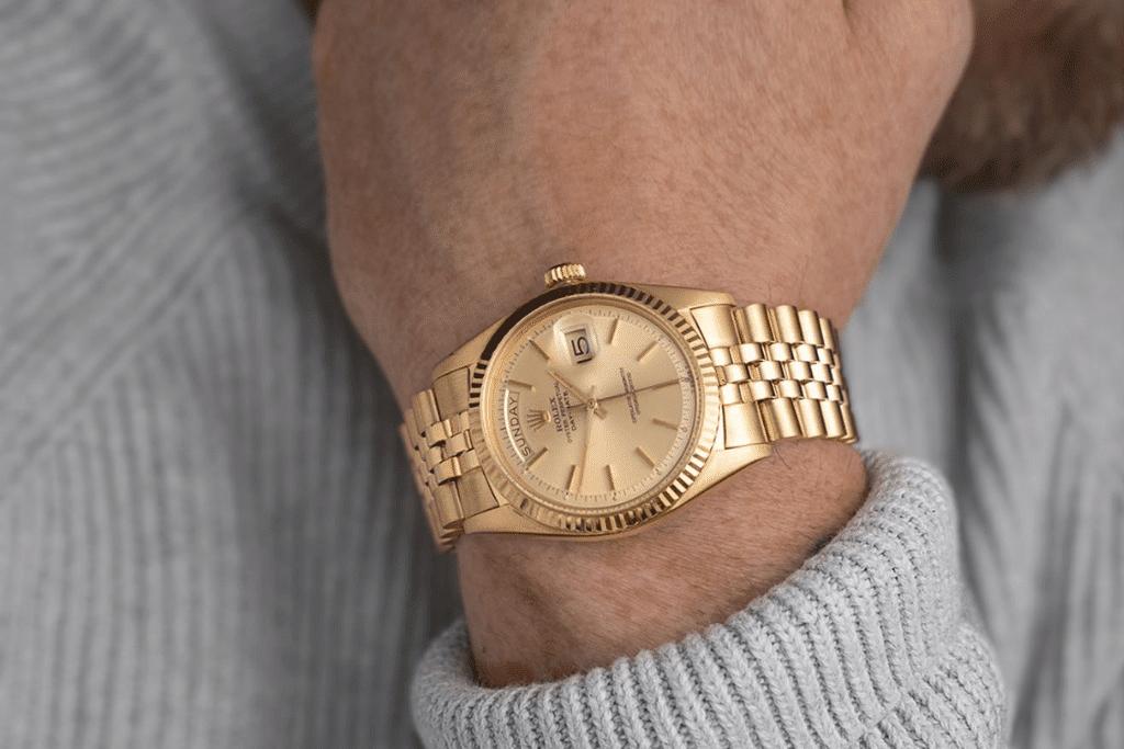 Le bracelet Rolex Président